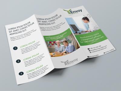Tri-Fold Brochure / Envoy tri-fold brochure tri-fold brochure