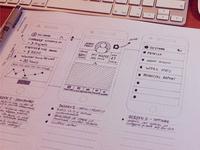 iPhone App / Wireframing