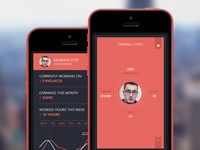 UI / UX | Profile Screen | iPhone App
