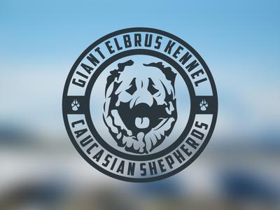 GIANT ELBRUS KENNEL / Logo Design
