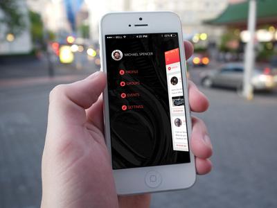 Options Screen / Community App