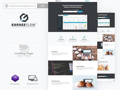 Landing Page Design web design website user interface logo app interface ui