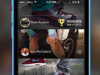 popAD - Showcasing the winner popad ads ad ios app ui interface iphone