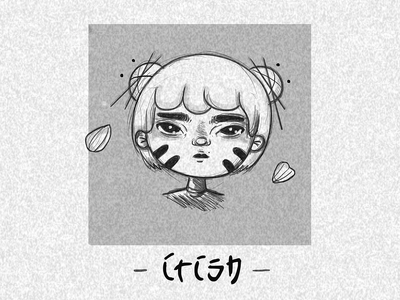 Niña Kyoshi 🔥 illustrator tattoo design tattoo art 2d art japanese art blackwork sketchbook 2d japanese design illustration