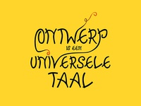 Design is a universal language