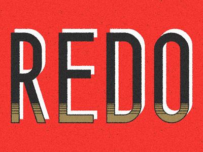 Redo typography type redo