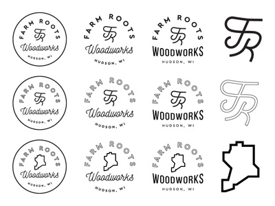 Farm Roots Logo Exploration 02