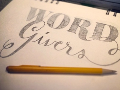 Word Givers Sketch