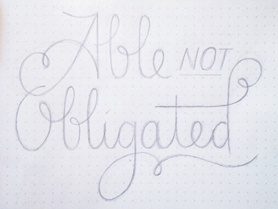 Able Not Obligated