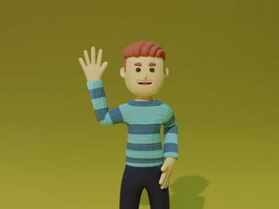Character 2 character animation 3d