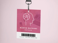 Dribbble Id Card