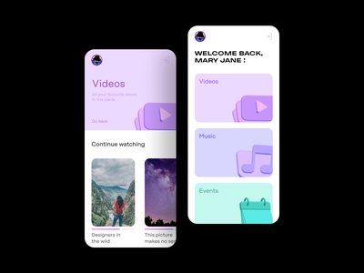 Multimedia app concept with 3D icons free sample 3d icon pack ui supply video app app design content creation 3d assets 3d 3d icons illustration uiux sketch icon pack ui resources freebie figma