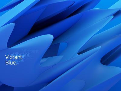 Abstract background illustration modern shape color art design graphic abstract background blue blender 3d render