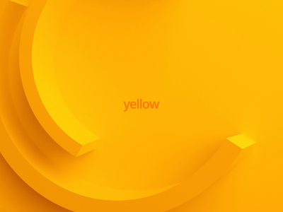 Motion background shape minimal loop render animation design motion yellow color abstract background 3d