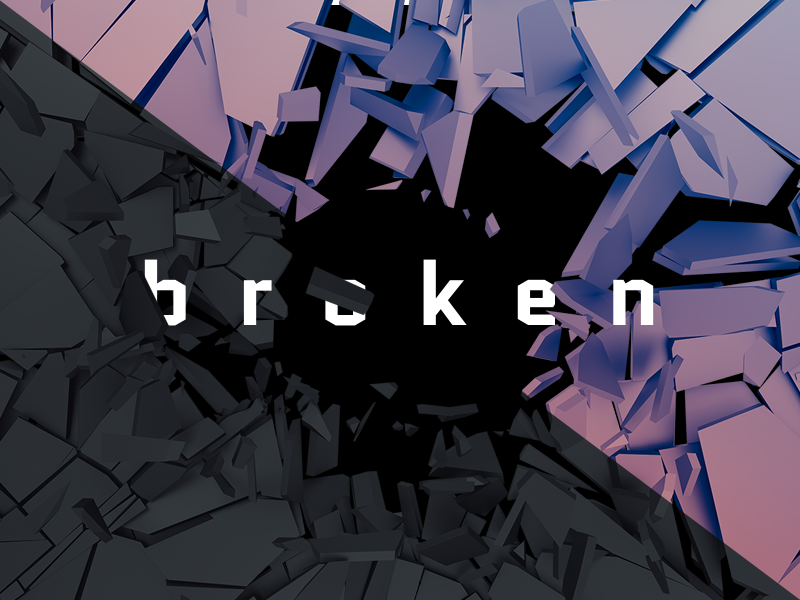 Cracked Surface 3d Render By Aleksei Vasileika On Dribbble
