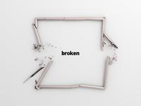 Broken square