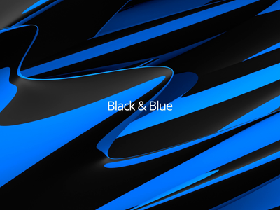Endless background animation endless shape modern loop animation motion design 3d render blue black abstract background motion graphic 3d animation