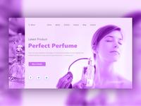 Perfume Landing Page