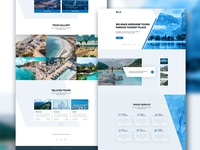 Travel Agency Web Page