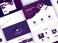 Business Platform Landing Page