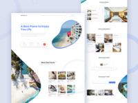 Hotel Booking Web Landing Page