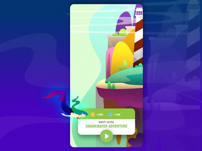 Game Interface vector illustration