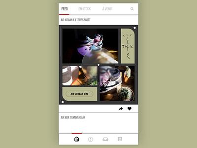 Sneakers App web ux ui design