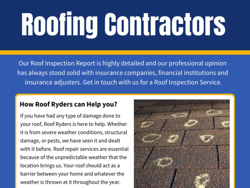 Roof Repair - cover