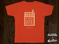 Strike One Matches – Threadless x Dribbble