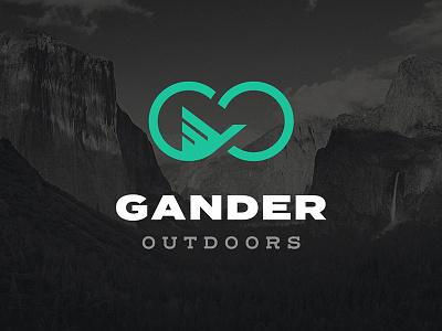 Gander Outdoors Rebrand goose brand rebrand logo
