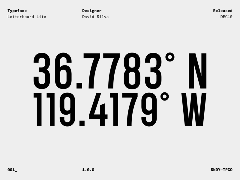 Letterboard Lite specimen — Sans serif numbers free font freebies freebie sans serif font sans-serif sans serif sanserif sans fonts font type design typedesign type typography typeface