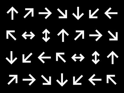 Letterboard Lite specimen — Arrows glyphs fontself fonts arrows semibold bold sans-serif sans serif sansserif sans