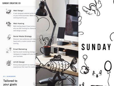 Creative Creative Co. website and illustrations typeface fonts brand identity webflow responsive web website typography type design branding