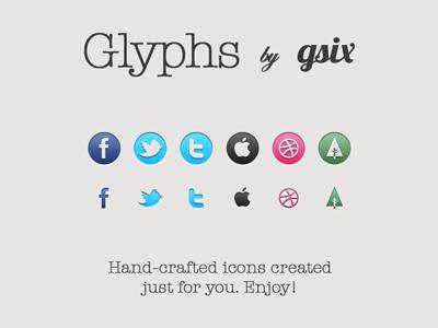 Glyphs bygsix