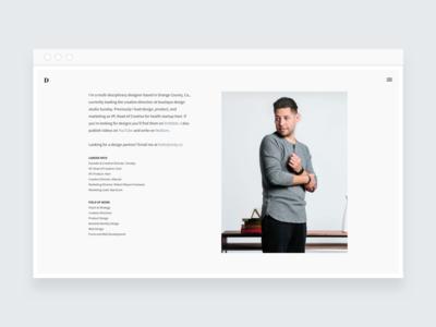 davidsilva.co - Responsive web design