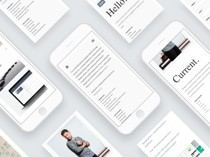 davidsilva.co - Mobile-first and responsive mobile-first design responsive design web design