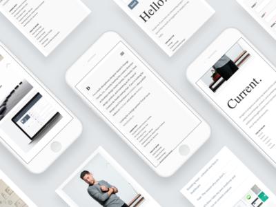 davidsilva.co - Mobile-first and responsive