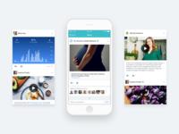 Hart iOS app design