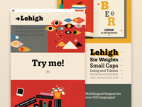 Lehigh - Responsive web design