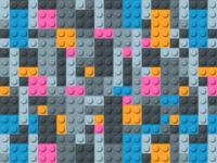 Lego background pattern illustration
