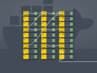 Docker Illustration for a SAAS product