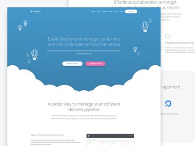 Caylent SAAS  Responsive Web design