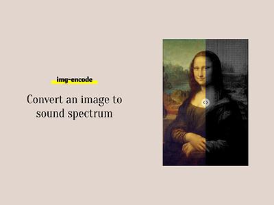 img encode spectral spectrum glitch glitch art creative design creative ui generative design computer art js audio player audio app sound wave sound design frequency audio sounds