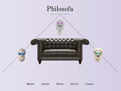 Philosofa social social app app design app identity logo meetup philosophy illustraion art webdesign website