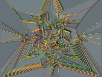 voro design computer art art parametric algorithmic random generative art generative