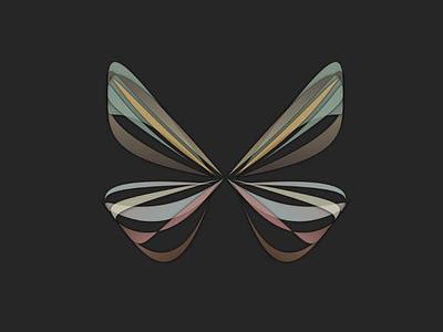 butterfly nullshape computer art random art algorithmic butterfly parametric design generative-art generative
