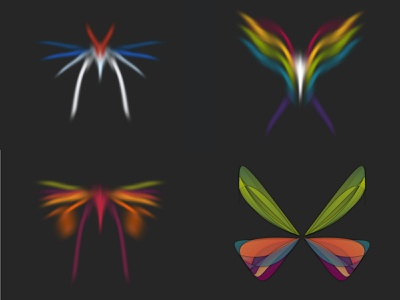 2018 design illustration generative-art bug procedural butterfly random nullshape generative art art computer art generative parametric algorithmic