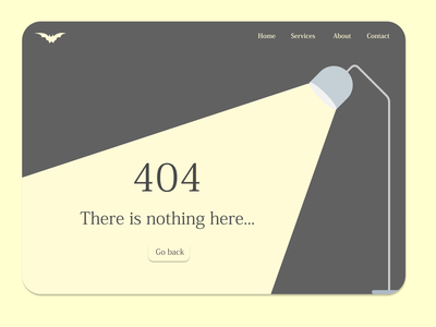 404 Page #DailyUI 404 error 404page 404 website illustration userinterface uidesign ui figma design dailyuichallenge dailyui