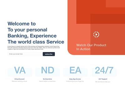 Landing Page granddesignlab web ui minimal