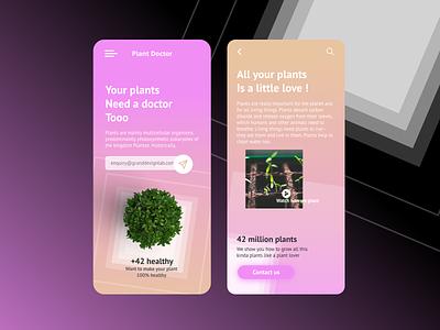 PlantApp granddesignlab design app minimal